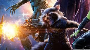 wallpaper galaxy marvel guardians of the galaxy rocket raccoon 4k hd desktop wallpaper