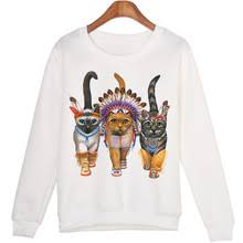 online get cheap vintage cat sweatshirt aliexpress com alibaba