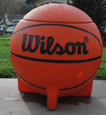 Little Tikes Football Toy Box Vintage Wilson Basketball Toy Box Sports Advertising Tv Prop