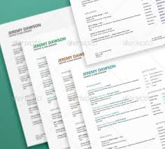 27 creative photoshop u0026 indesign resume templates wakaboom