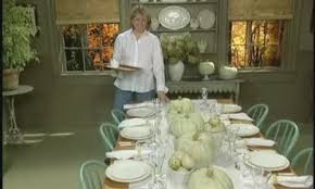 how to set a casual thanksgiving table martha stewart