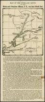 Map Of Florence Oregon by Map Of The Overland Route To The Boise And Owyhee Mines