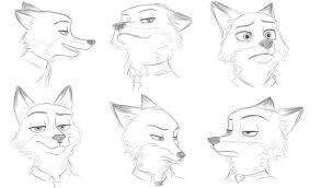 nick wilde sketches video by akasunanodei on deviantart