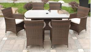 Outdoor Dining Area With No Chairs Patio Garden Outdoor Furniture No Cushions Outdoor Furniture