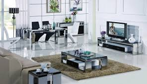 Modern Furniture Ct by Modrest 2303a Modern Stainless Steel Coffee Table