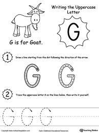writing uppercase letter g myteachingstation com