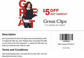 haircut specials at great clips 2016 great clips
