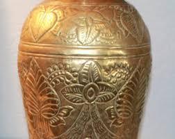 Brass Vase Value Brass Vases Etsy