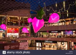 shopping centre with christmas decorations cabot circus bristol
