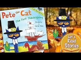 pete the cat the thanksgiving children s stories read