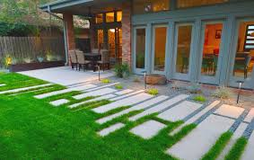 landscaping denver co clean modern landscaping project in denver country club mile