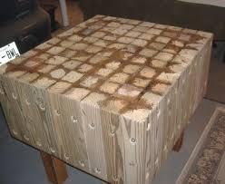 table top glue up butcher block
