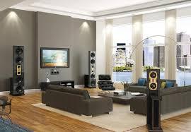 grey livingroom living room with gray theme and wood floors modern on grey living
