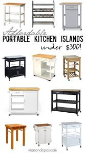 affordable kitchen islands where to buy affordable kitchen islands maison de pax