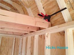 Loft In Garage How To Build A Shed Loft Hicks House