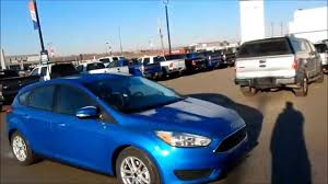 2016 ford focus se hatchback 2 0l 6 speed automatic youtube