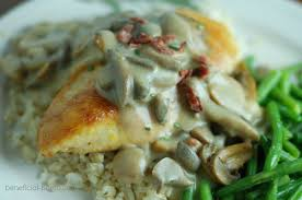 Low Calorie Cottage Cheese by Recipe For Dijon Chicken With Mushrooms And Bacon Beneficial Bento