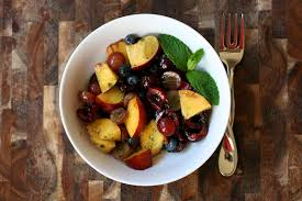 gourmet fruit summer fruit salad with mint sugar the merry gourmet