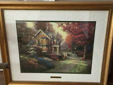 home interiors kinkade prints home interior kinkade ebay