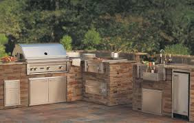 outdoor kitchen furniture home lynx professional grills sedona by lynx smartgrill