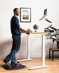 anti fatigue mat for standing desk topo by ergodriven not flat standing desk anti fatigue mat