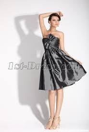 gray strapless junior prom dress 1st dress