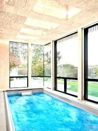 small indoor pools small modern pool theminamlodge com