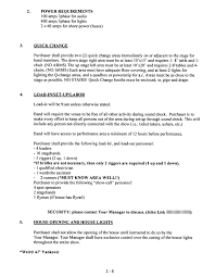 Stagehand Resume Examples by Weird Al