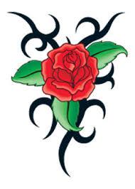 tribal rose and thorns tattooforaweek temporary tattoos largest
