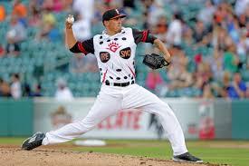 fresno grizzlies pitcher joe musgrove in