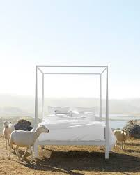 four post bed whitaker four poster bed serena u0026 lily