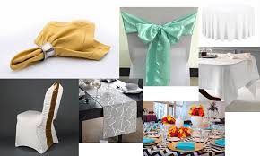online linen rentals linen rental in cicero table linen rental cicero chair covers