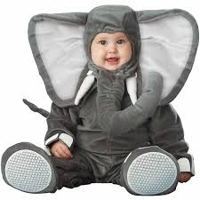 Infant Halloween Costume Lil U0027 Elephant Elite Collection Infant Halloween Costume Walmart