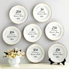 50th anniversary plate personalized personalized 50th wedding anniversary gifts 50 year gold plates