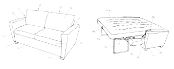 Sofa Bed With Inflatable Mattress Patent Centerfieldbar Com