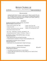 college resume formats 7 sle student resume for college azzurra castle grenada