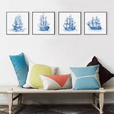 Sailboat Home Decor Online Buy Wholesale Abstract Sailboat Paintings From China