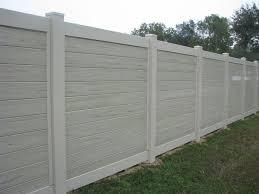Fence Ideas For Backyard by Best 25 White Vinyl Fence Ideas On Pinterest White Fence