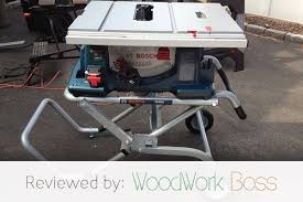 Bosch Table Saw Review by Best Jobsite Table Saw Bosch 4100 09 Review 2017