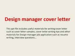 design manager cover letter 1 638 jpg cb u003d1394016967