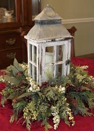 Christmas Decor With Lanterns