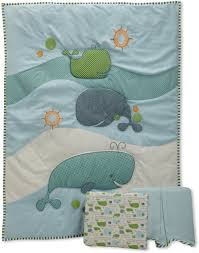 Fish Crib Bedding by Whale Crib Bedding Look Attractive Home Inspirations Design