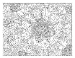 complicated printable coloring sheets detailed geometric