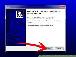 a photo album how to create a web album with photomeister 9 steps