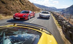 replica lamborghini vs real our kind of eu summit ferrari 488 gtb vs mclaren 570s vs audi r8