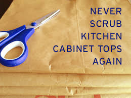 What To Use To Clean Greasy Kitchen Cabinets How To Keep Kitchen Cabinet Tops Clean
