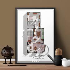 sherlock holmes 221b baker street london floor plan sherlock