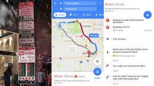 find maps new maps feature tells you how it is to find parking