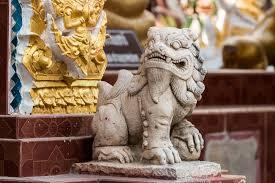 pixiu statue pixiu statue lucky animal mascot stock photo image of