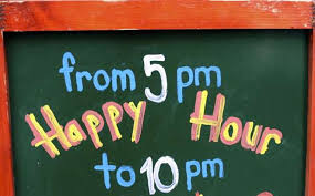 where did the term happy hour come from mental floss